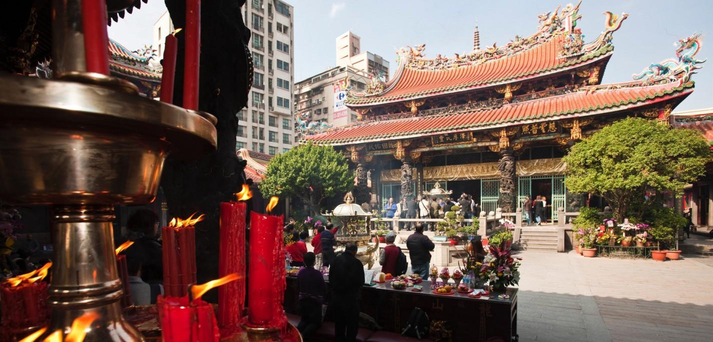 מקדש לונגשאן, טאיפיי טיוואן