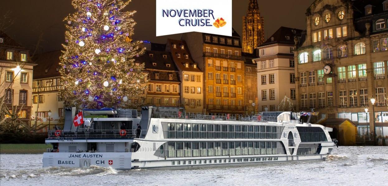 שייט מאורגן: נובמבר הרומנטי על גדות הריין
