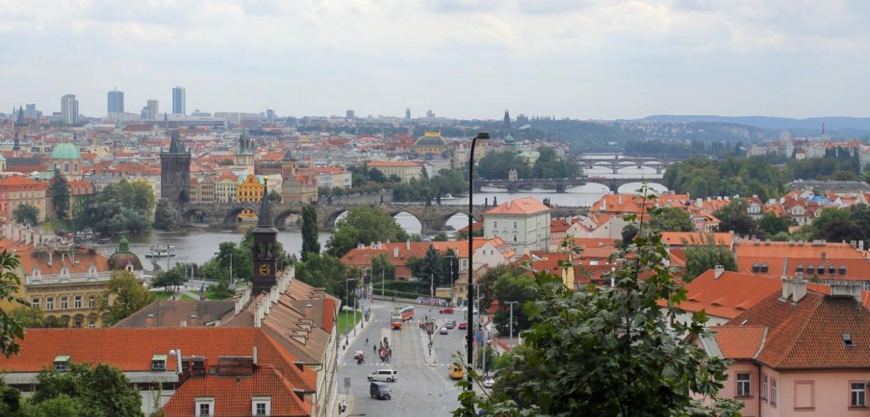 צ'כיה, דרום בוהמיה ואזור האגמים באוסטריה