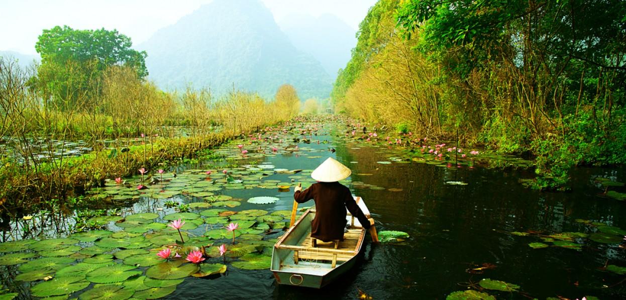 תרבויות המקונג - שייט במורד הנהר