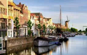 הריין ודרכי המים של הולנד ובלגיה
